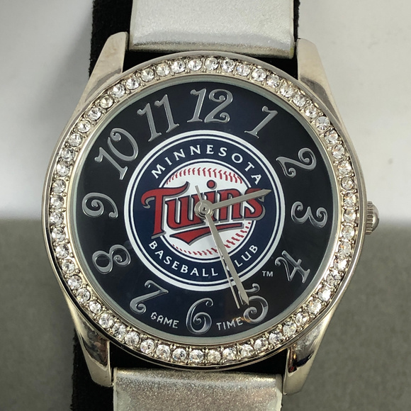 Game Time Accessories - Game Time Twins Crystal Glitz Series quartz Watch